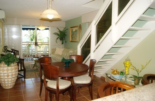 Dining and living room - Cabo Rojo apartment rental